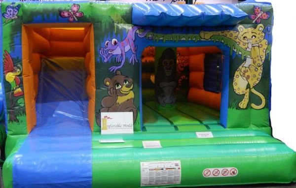 Jungle Bounce n Slide combination castle Hire